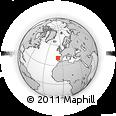 Outline Map of Mesao Frio