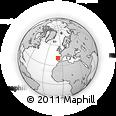 Outline Map of Sabrosa