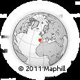 Outline Map of Santa Marta De Penaguiao