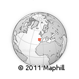 Outline Map of Maia
