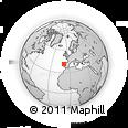 Outline Map of Matosinhos