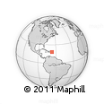 Outline Map of Hatillo
