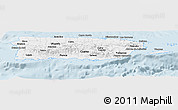 Classic Style Panoramic Map of Puerto Rico