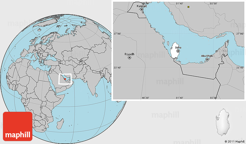 Blank Location Map of Qatar, gray outside on world map uae, world map in bangladesh, world map in norway, world map in chile, world map in nigeria, world map in china, world map kuwait, world map in arabic, world map in sri lanka, world map iraq, world map in france, world map in austria, world map jordan, world map in russia, world map in england, world map bahrain, world map in vietnam, world map doha, world map in english, world map in french,