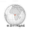 Outline Map of Ngamaba (Brazzaville)