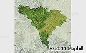 Satellite Map of Alba, lighten