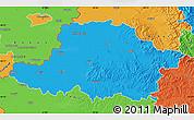 Political Map of Arad