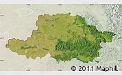 Satellite Map of Arad, lighten