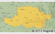 Savanna Style Map of Arad