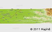 Physical Panoramic Map of Arad