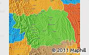 Political Map of Bacau