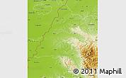 Physical Map of Bihor