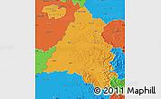 Political Map of Bihor