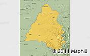 Savanna Style Map of Bihor
