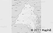 Silver Style Map of Bihor