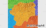 Political Map of Bistrita-Nasaud