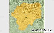 Savanna Style Map of Bistrita-Nasaud