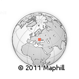 Outline Map of Botosani