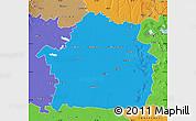 Political Map of Braila