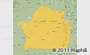 Savanna Style Map of Braila