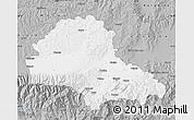Gray Map of Brasov