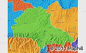 Political Map of Brasov