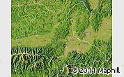 Satellite Map of Brasov