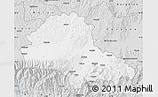 Silver Style Map of Brasov
