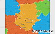 Political Map of Bucuresti