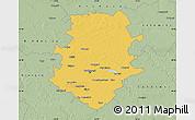Savanna Style Map of Bucuresti