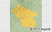 Savanna Style Map of Buzau