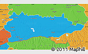 Political Map of Calarasi