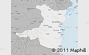 Gray Map of Constanta