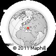 Outline Map of Dolj