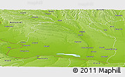 Physical Panoramic Map of Dolj