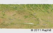 Satellite Panoramic Map of Dolj