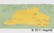 Savanna Style Panoramic Map of Dolj