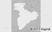 Gray Map of Giurgiu