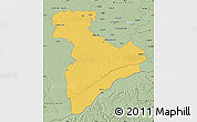 Savanna Style Map of Giurgiu