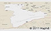 Classic Style Panoramic Map of Giurgiu