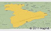 Savanna Style Panoramic Map of Giurgiu
