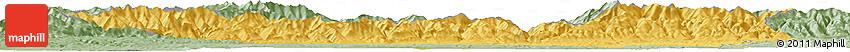 Savanna Style Horizon Map of Gorj