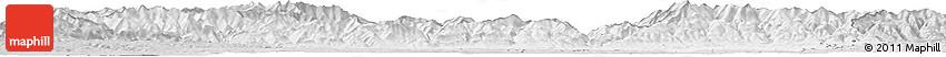 Silver Style Horizon Map of Gorj