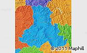 Political Map of Harghita