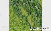 Satellite Map of Harghita