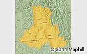 Savanna Style Map of Harghita