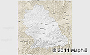 Classic Style 3D Map of Hunedoara