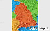 Political Map of Hunedoara