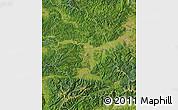Satellite Map of Hunedoara