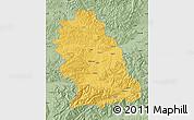 Savanna Style Map of Hunedoara